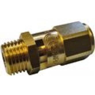 Аварийный клапан 3/8 '' 2 BAR, cертифицированный CE PED IV